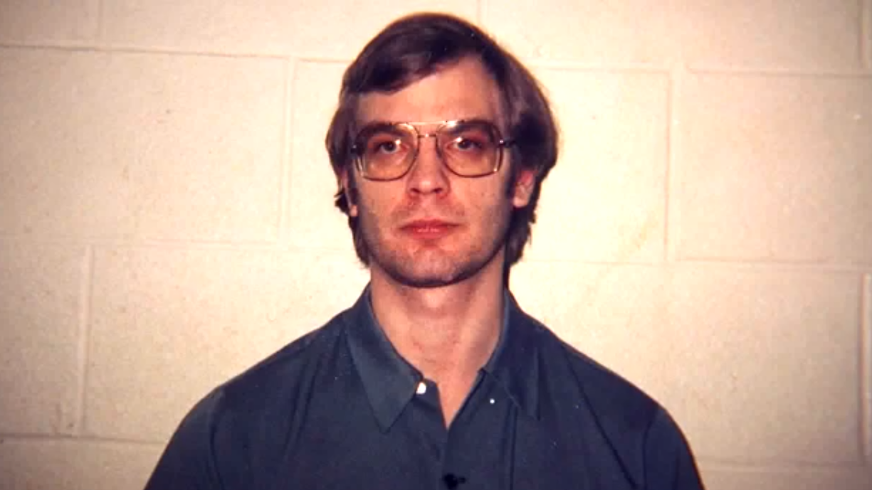 A well known and terrifying killer, Dahmer who killed and ate many of his victims.