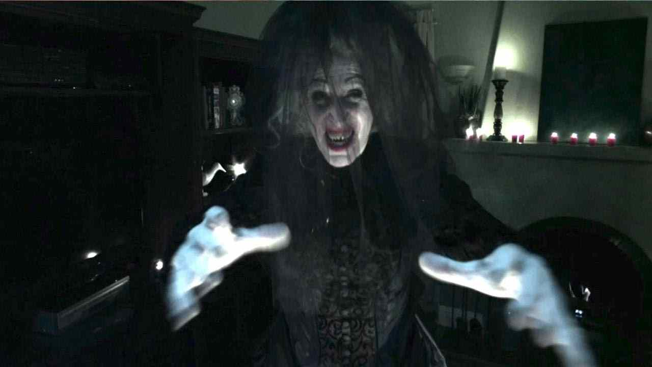The bride in black who is parker crane in Insidious chapter 2.