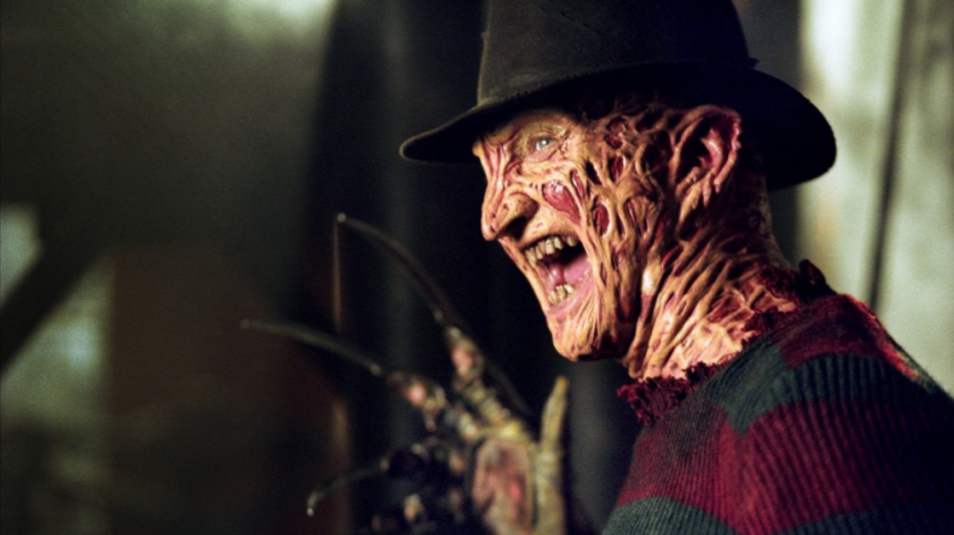 Robert Englund as Freddy Krueger (Fred Krueger) in the Wes Craven slasher classic A Nightmare on Elm Street.