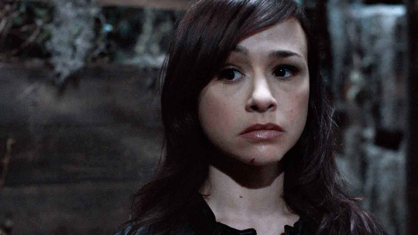 A still photo of actress and scream queen Danielle Harris.