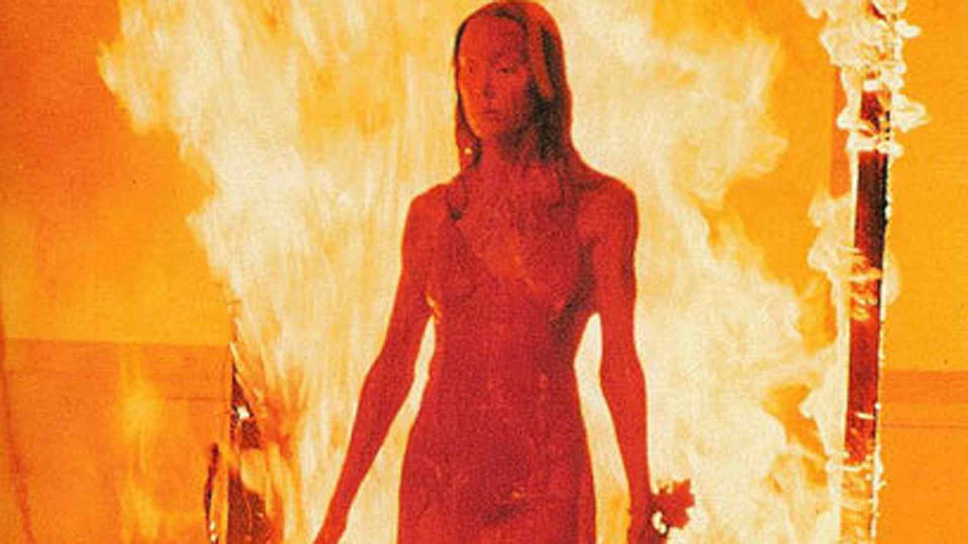 Sissy Spacek who plays Carrie in this hit Stephen King novel and Brian De Palma directed movie.