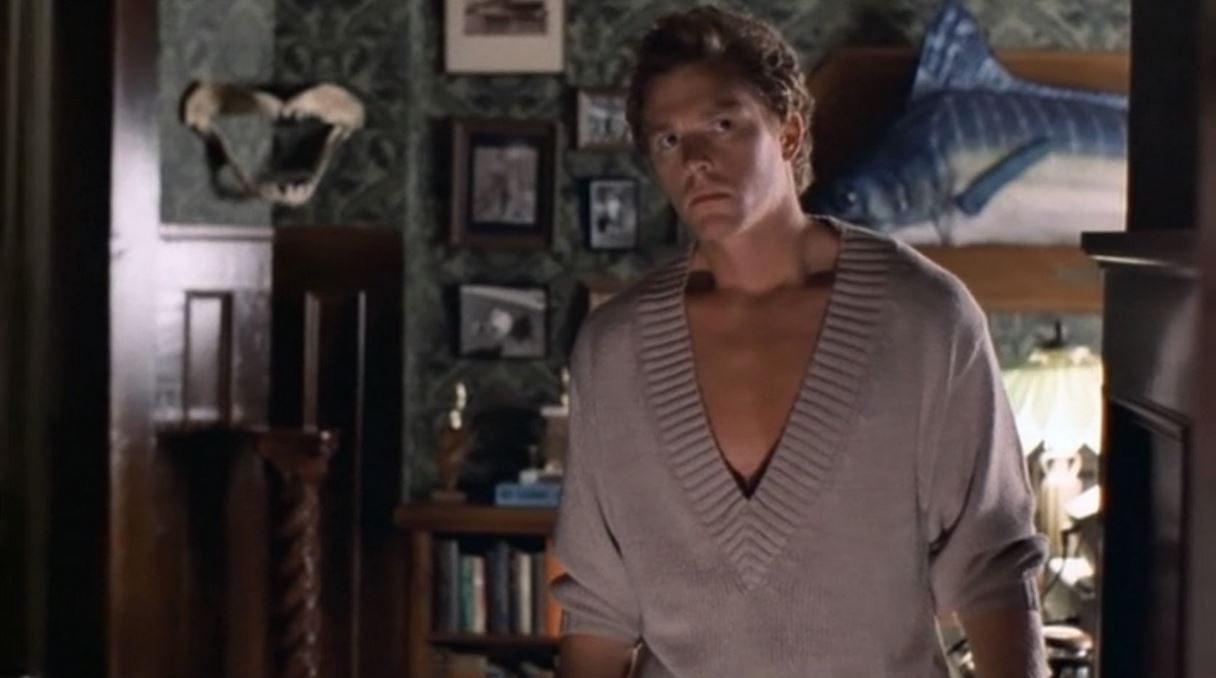 William Katt as author Roger Cobb from the movie House.