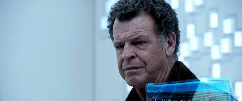 Brooding Walter Bishop from Fringe.