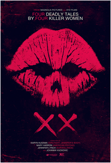 Poster for Horror Anthology XX.