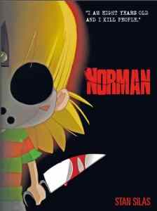 Cover image to Stan Silas's Norman, Book 1, from Titan Comics.