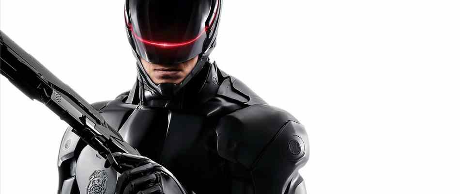 Our cyborg hero from the 2014 remake of Robocop.