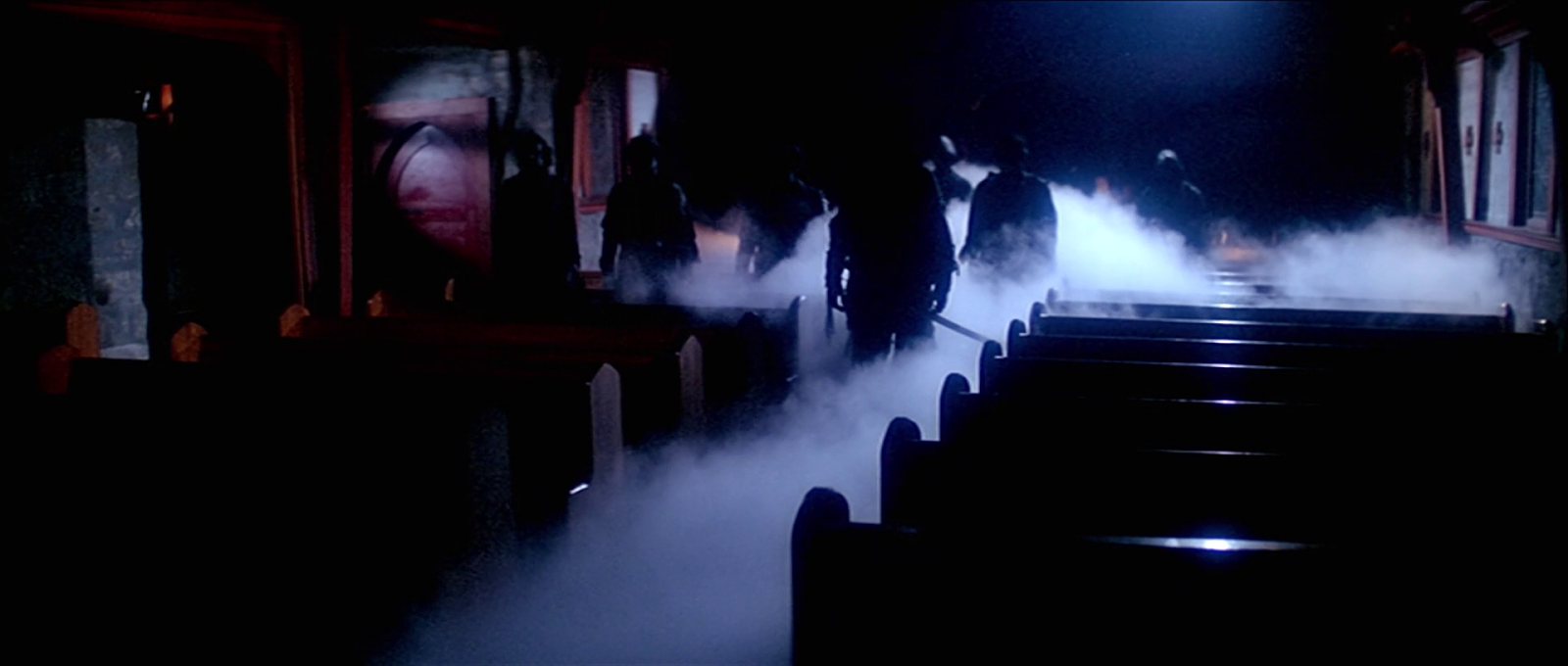 The ghosts in Carpenter's The Fog