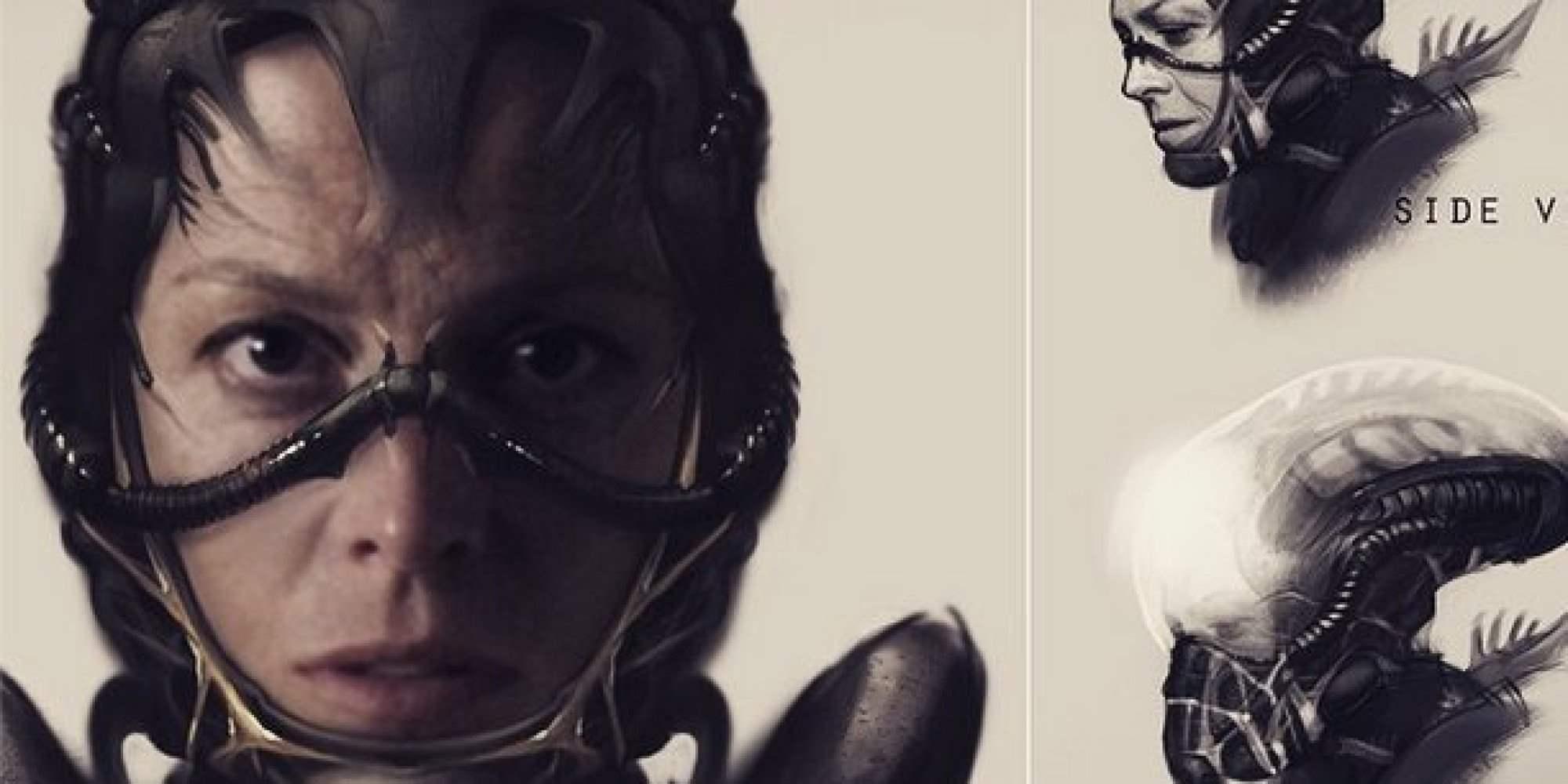 Neill Blomkamp's Alien Artwork