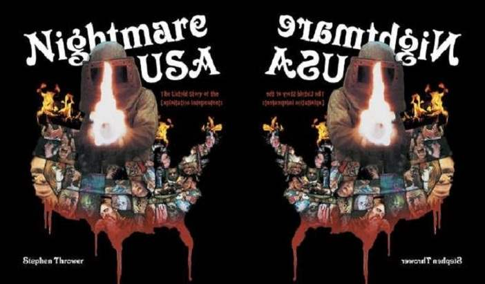 Cover image to Nightmare USA by Stephen Thrower