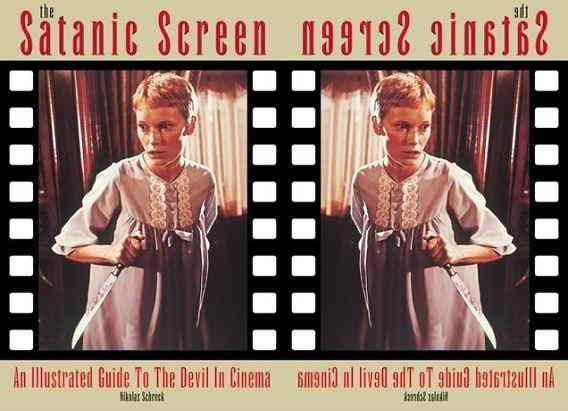 Cover image to The Satanic Screen by Nikolas Schreck