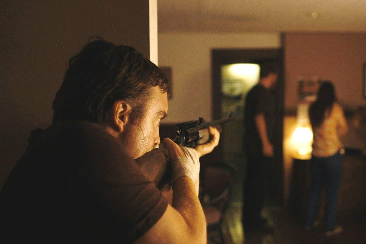 Macon Blair shooting in Blue ruin
