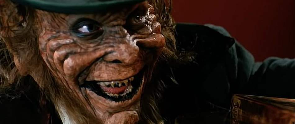 Warwick Davis from Leprechaun 2.