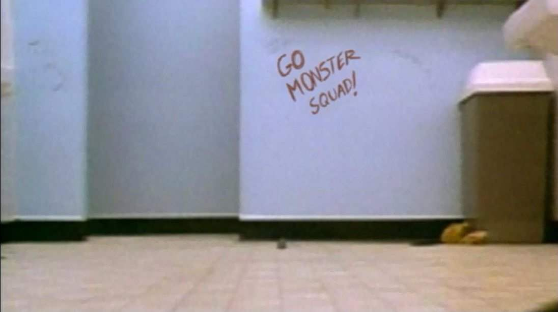 Night of the Creeps references The Monster Squad