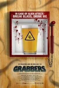 Horror comedy Grabbers directed by Jon Wright.