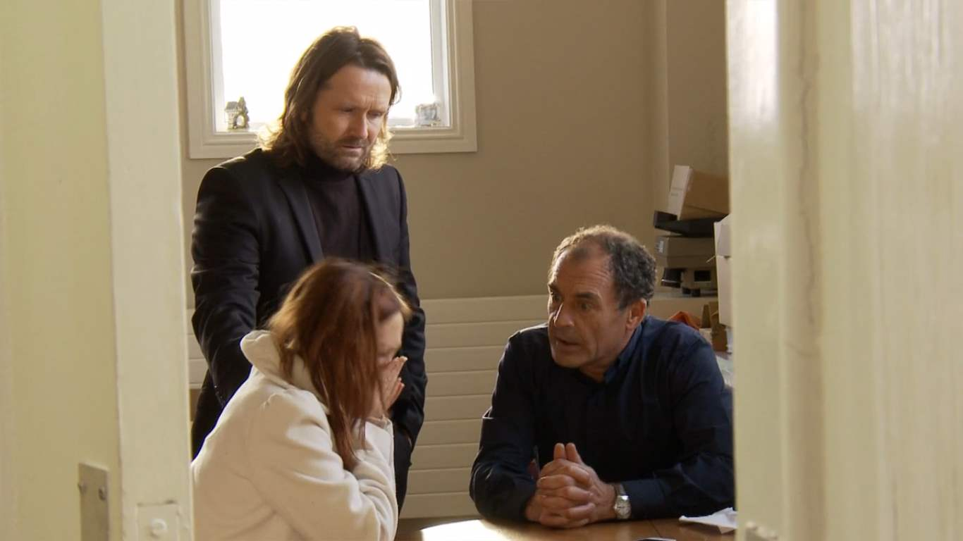 Paddy C Courtney, Elaine Hearty & Brian Fortune in An Irish Exorcism