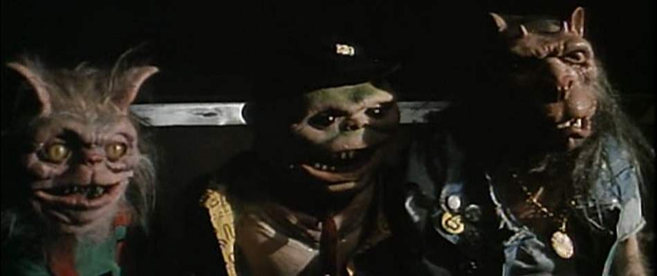Fratboy ghoulies from Ghoulies 3: Ghoulies Go to College.