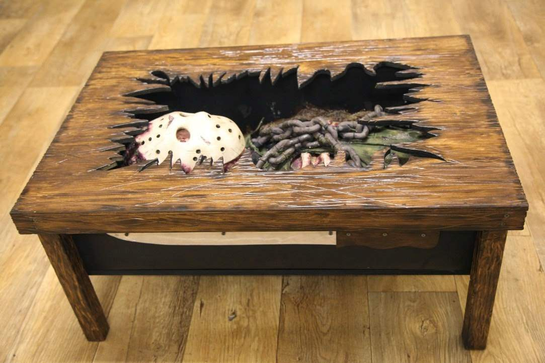 Jason Voorhees Friday The 13th Coffee Table