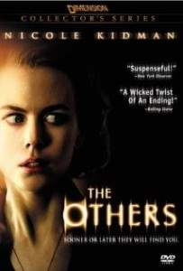 Nicole kidman who stars in the others.