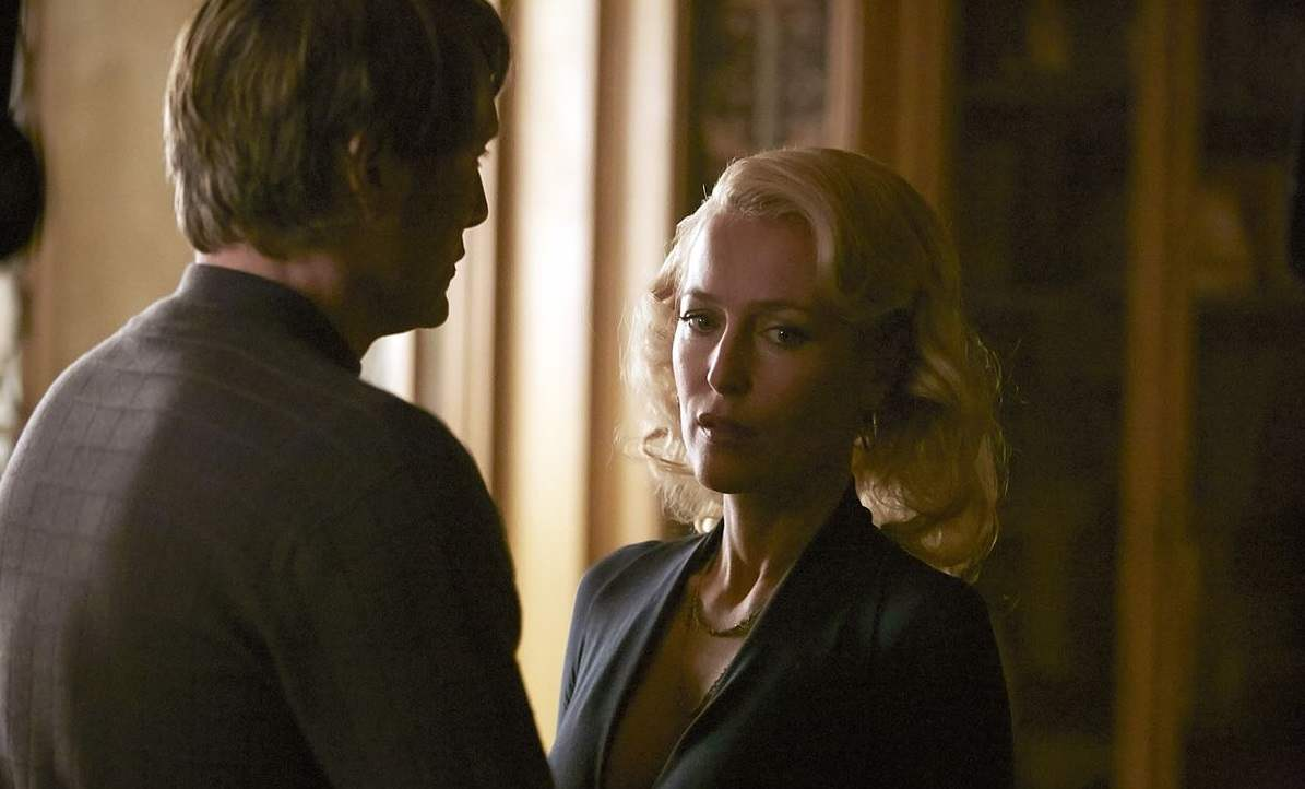 """Bedelia tells Hannibal in """"Dolce"""" that she is finally leaving him."""