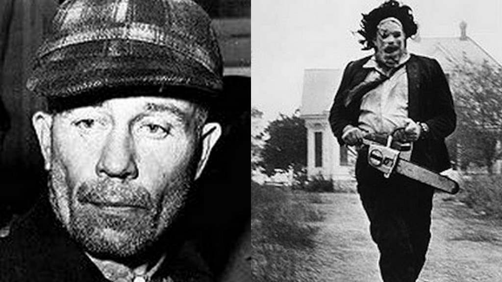 Ed Gein who inspired leatherface in the movie the texas chainsaw massacre