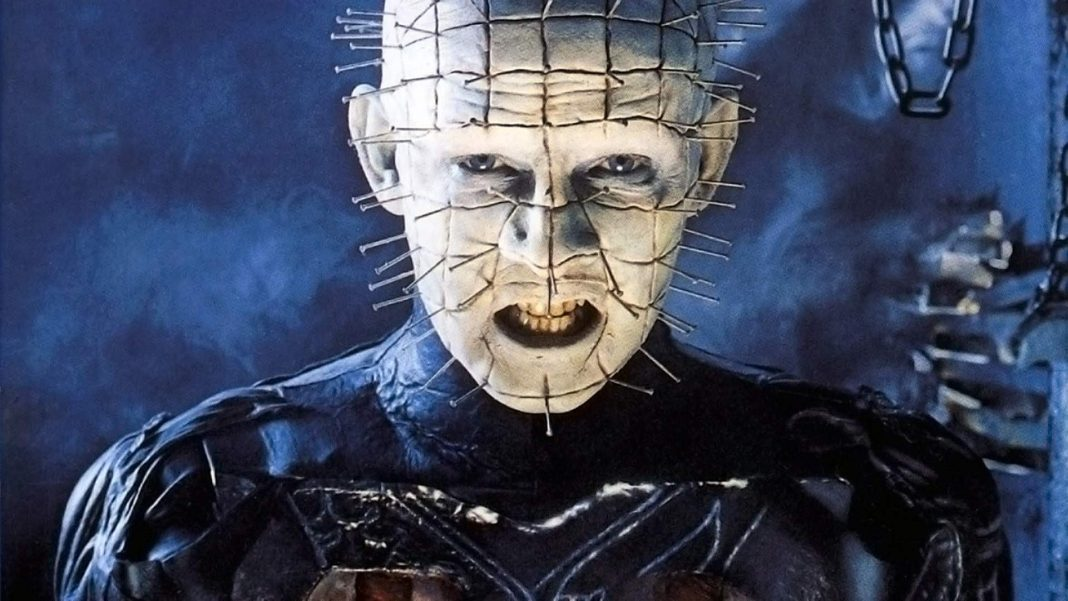 Pinhead is the master of torture and pain in Clive Barker's Hellraiser.