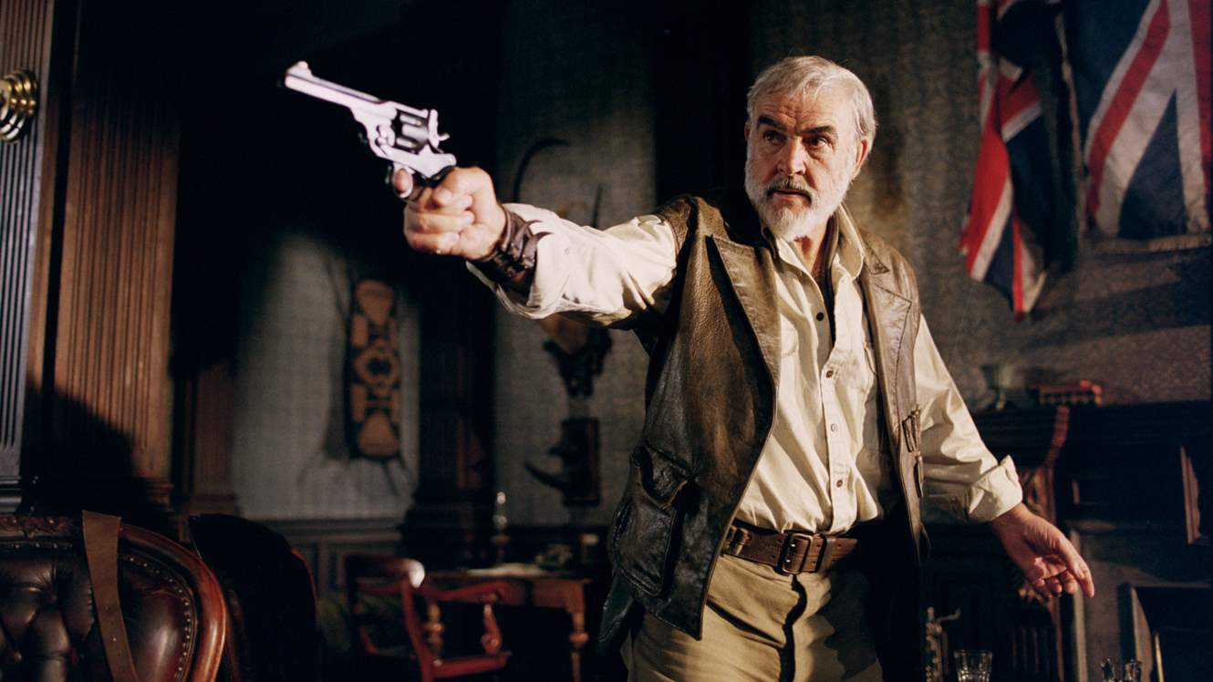 Sean Connery in League of Extraordinary Gentlemen