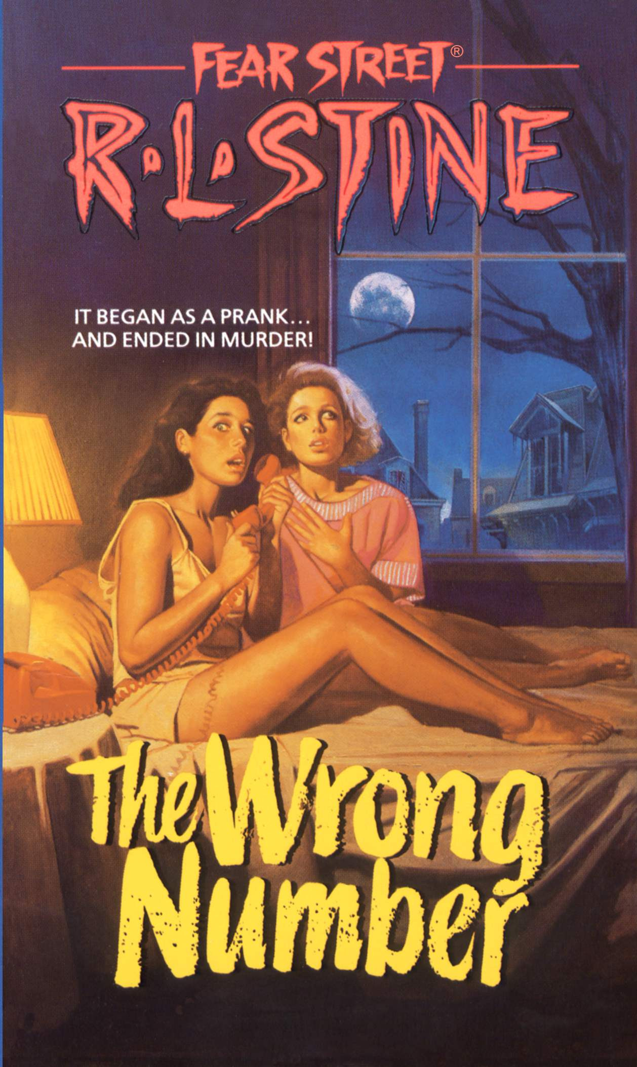 Fear Street The Wrong Number By R.L. Stine