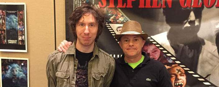 Stephen Geoffreys at Spooky Empire