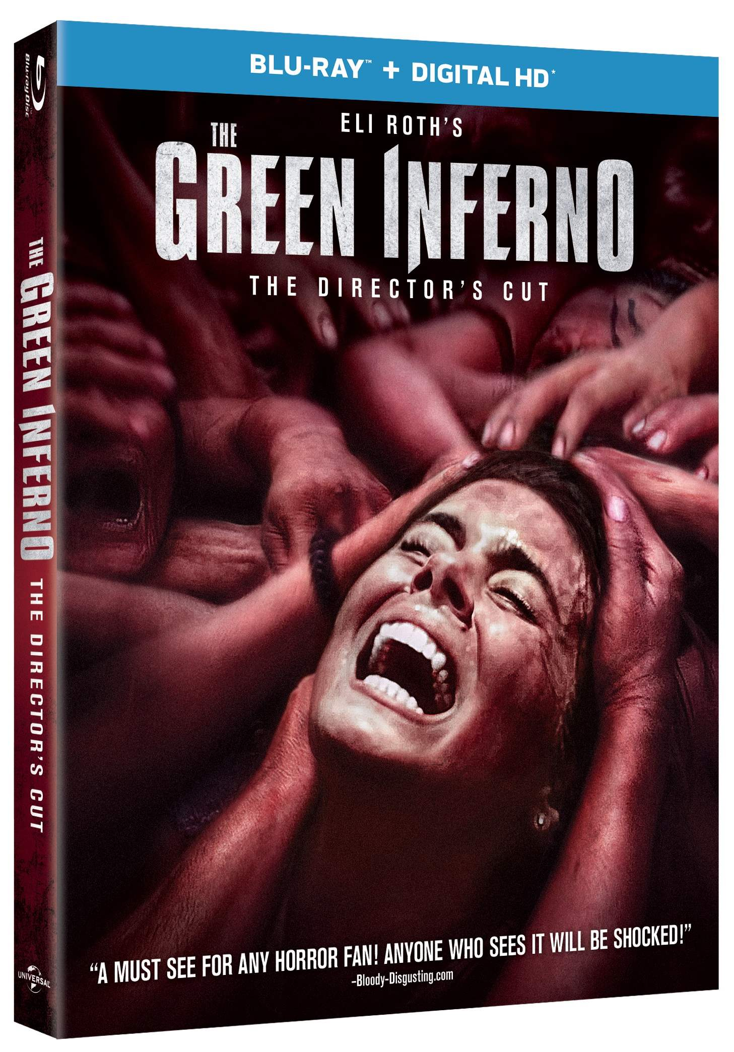 Blu Ray copy of Eli Roth's The Green Inferno for giveaway