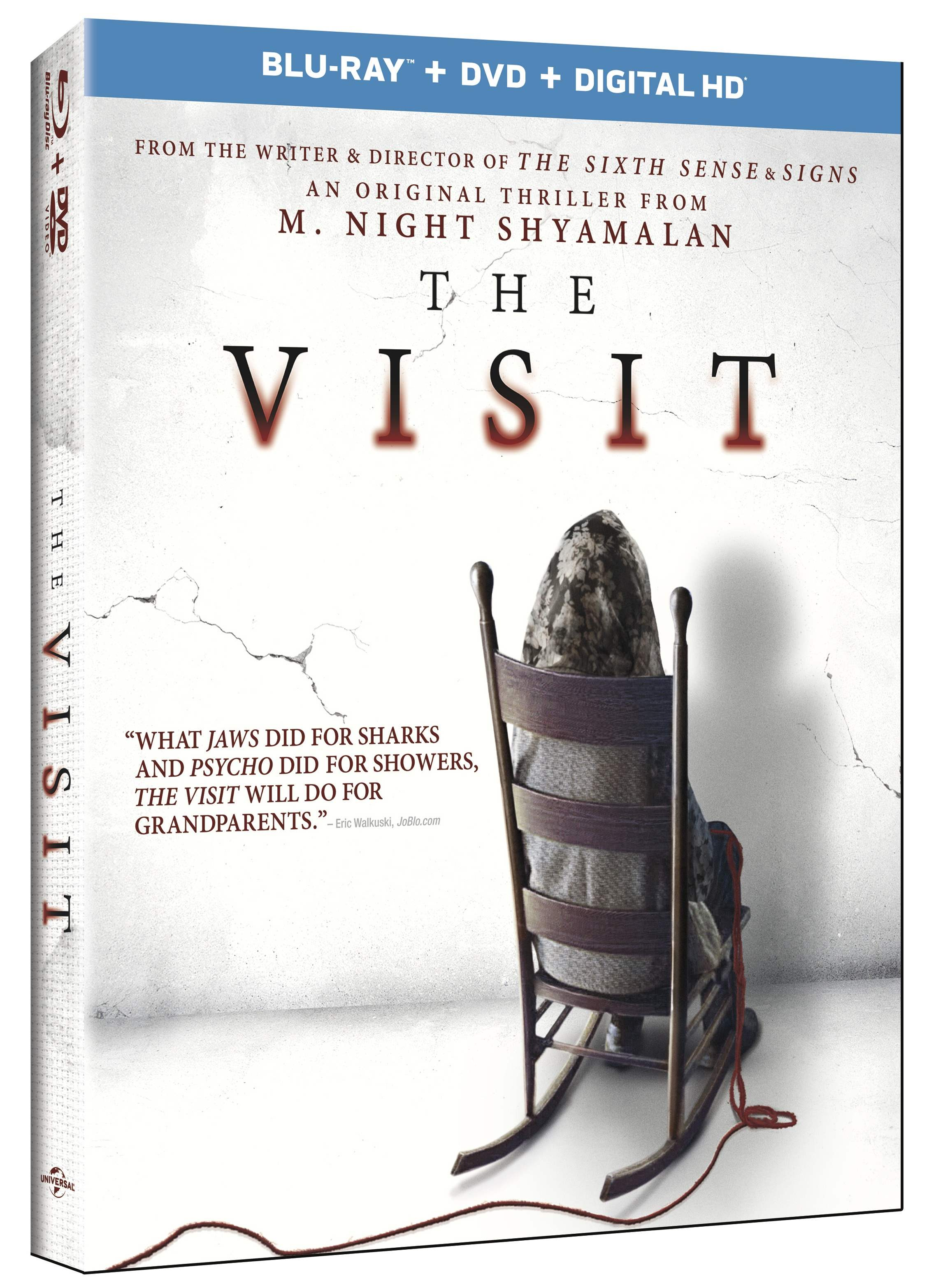 Blu Ray copy of M. Night Shymalan's The Visit for giveaway