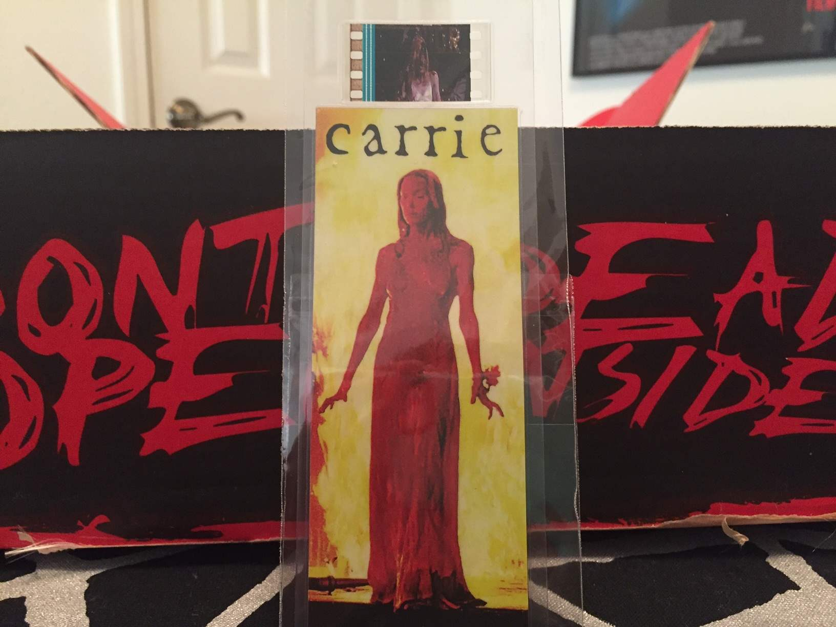 Film strip Carrie bookmark