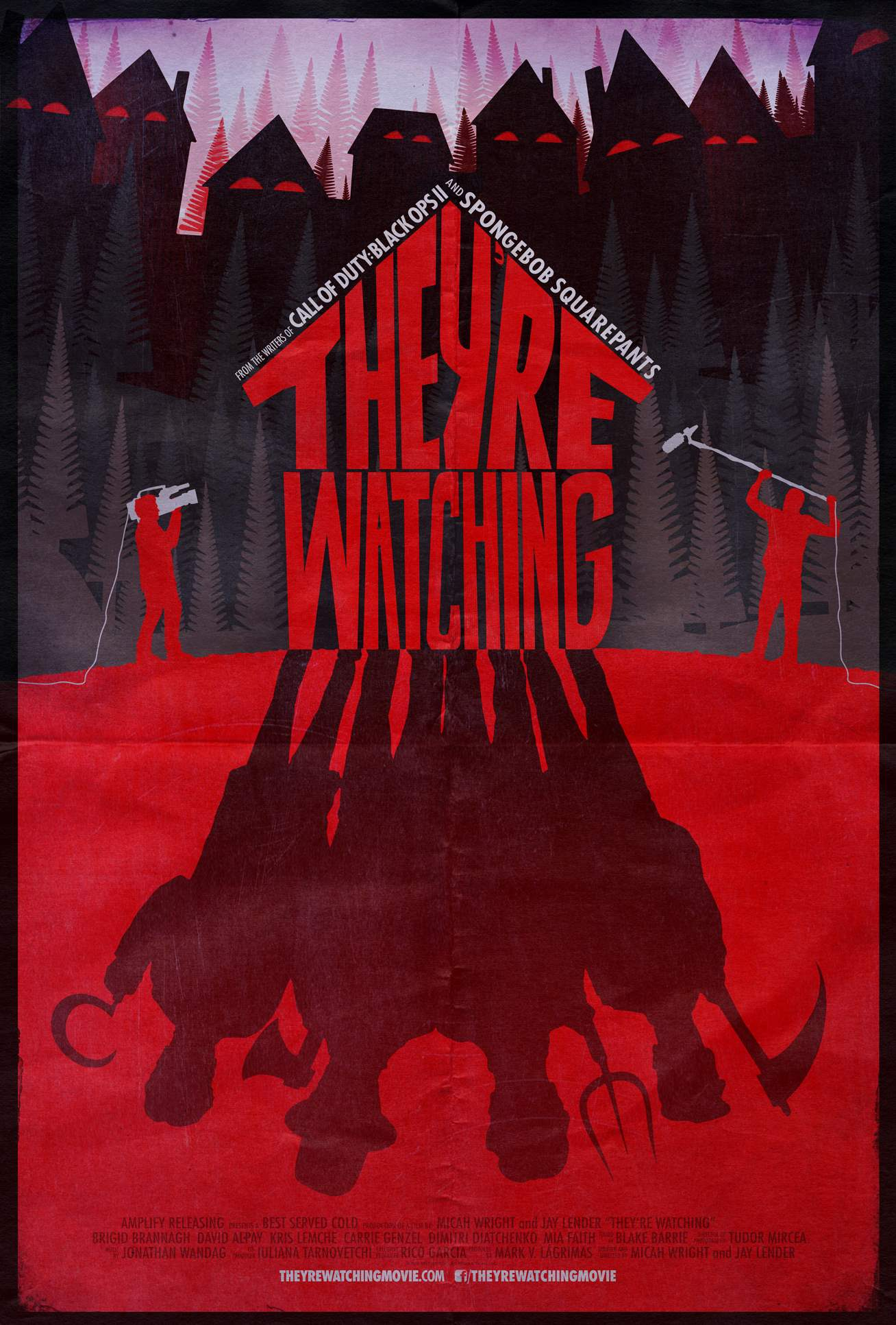 poster for They're Watching