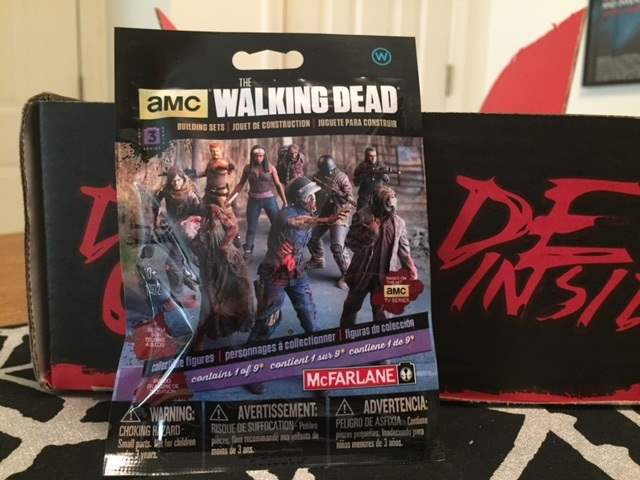 The Walking Dead zomibe figurine in the March 2016 Horror Block