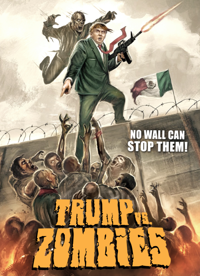 make america dead again with trump vs zombies wicked horror