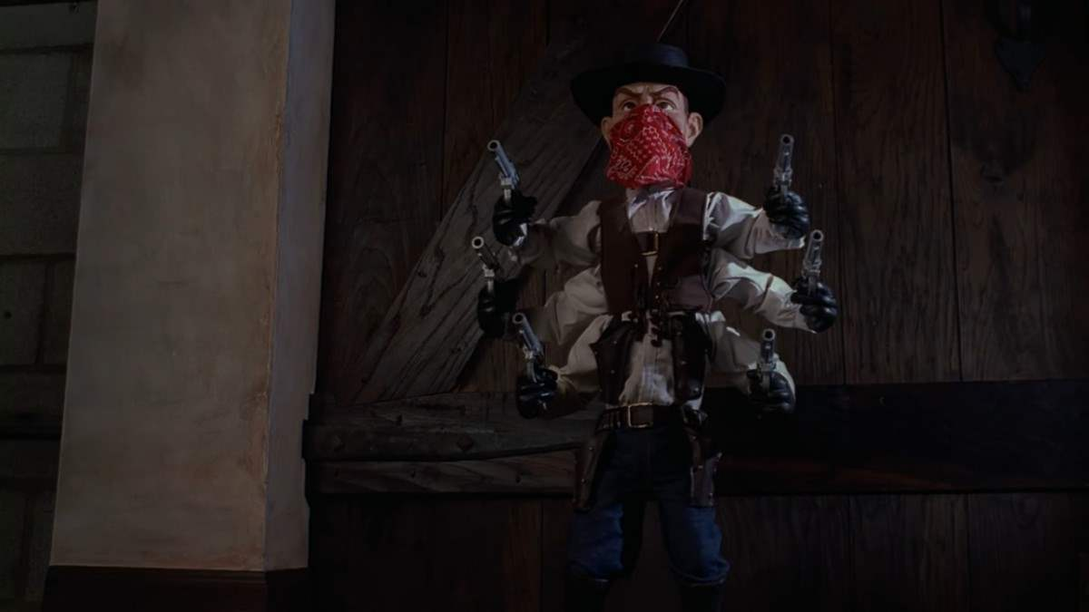 Six Shooter in Puppet Master III