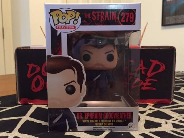 Pop! Vinyl Figure of Dr. Ephraim Goodweather from The Strain in the June 2016 Horror Block