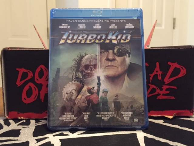 Blu-ray of Turbo Kid in the June 2016 Horror Block