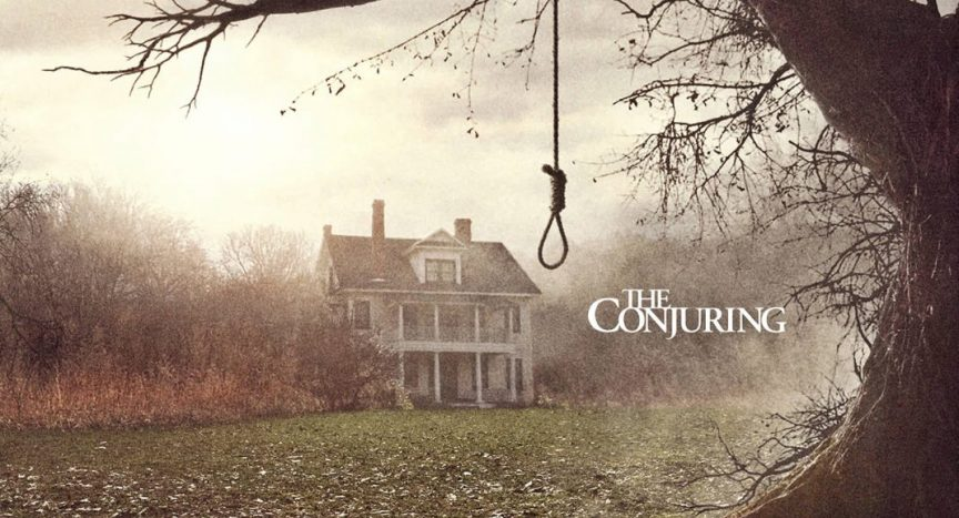 James Wan and Leigh Whannell - Wan and Whannell The Crooked Man. The movie poster shot for the conjuring in where a woman hung herself of the back yard tree. The Conjuring 2