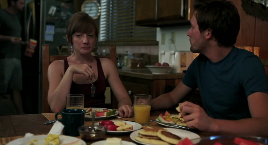 2013 Alien abduction movie Absence starring Erin Way, Eric Matheny and Ryan Smale