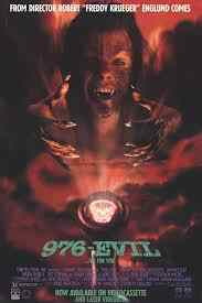 Poster for Robert Englund's 976-Evil.