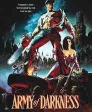Poster for Sam Raimi's Army of Darkness.
