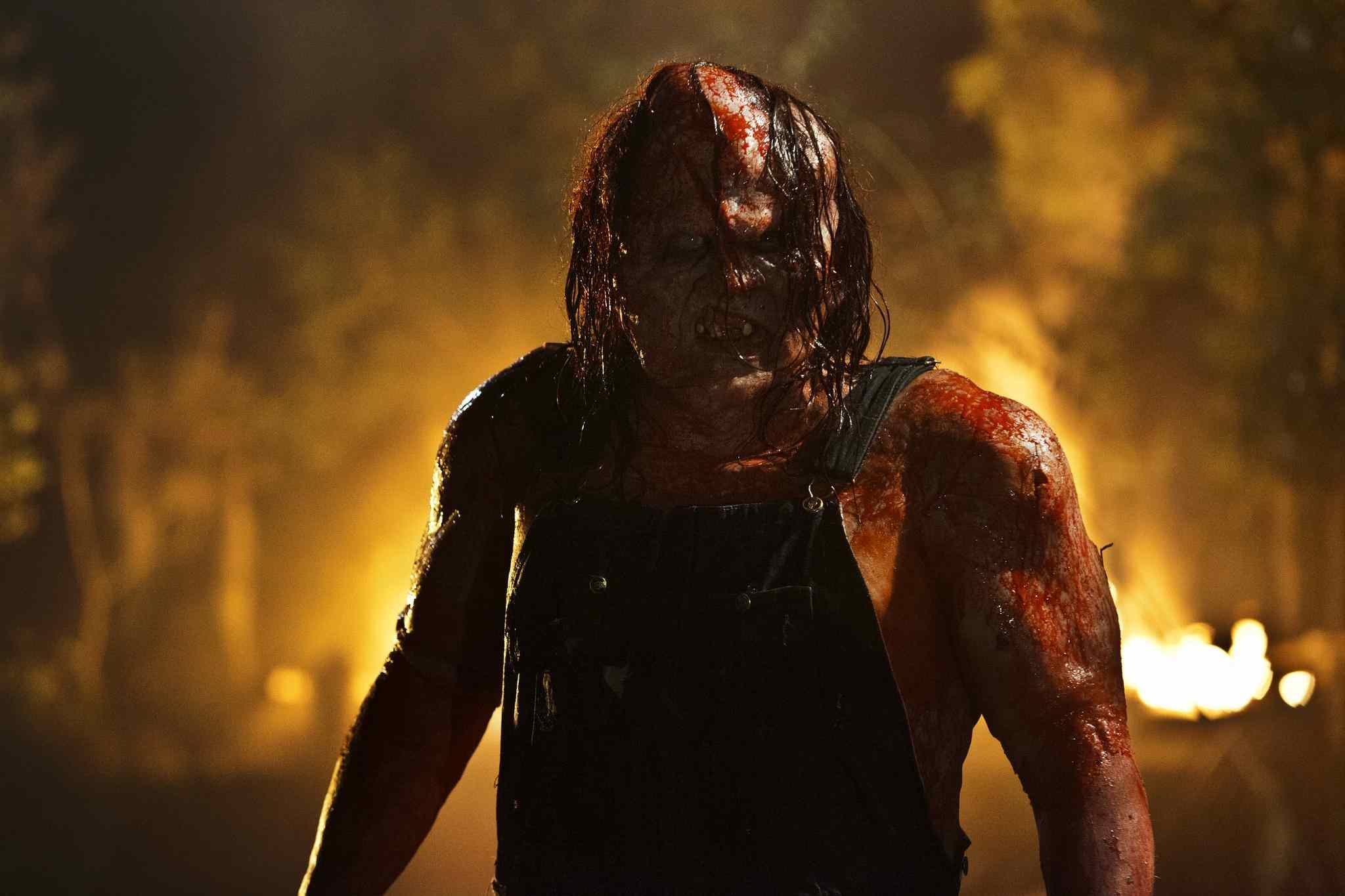Victor Crowley in Hatchet III. Hatchet 4.