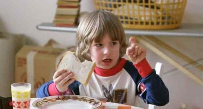 Danny talks to Tony, the little boy who lives in his throat - The Shining - Things You Probably Didn't Know About The Shining