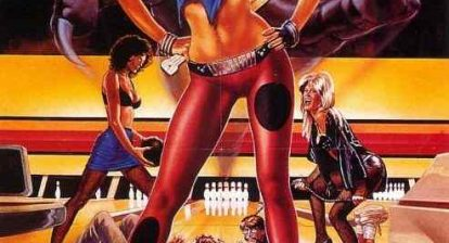 Poster for David DeCoteau's Sorority Babes in the Slimeball Bowl-o-Rama.