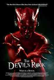 Poster for Paul Campion's The Devil's Rock.