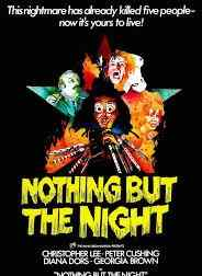 Poster for Peter Sasdy's Nothing but the Night.
