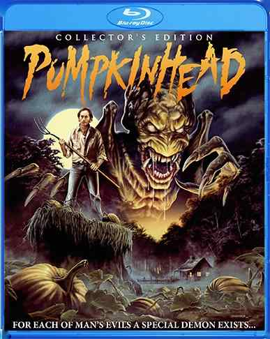 New cover art for Stan Winston's Pumpkinhead.