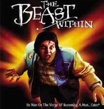 Poster for Philippe Mora's The Beast Within.