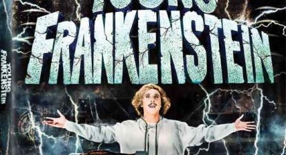 Poster art for Mel Brooks' Young Frankenstein.