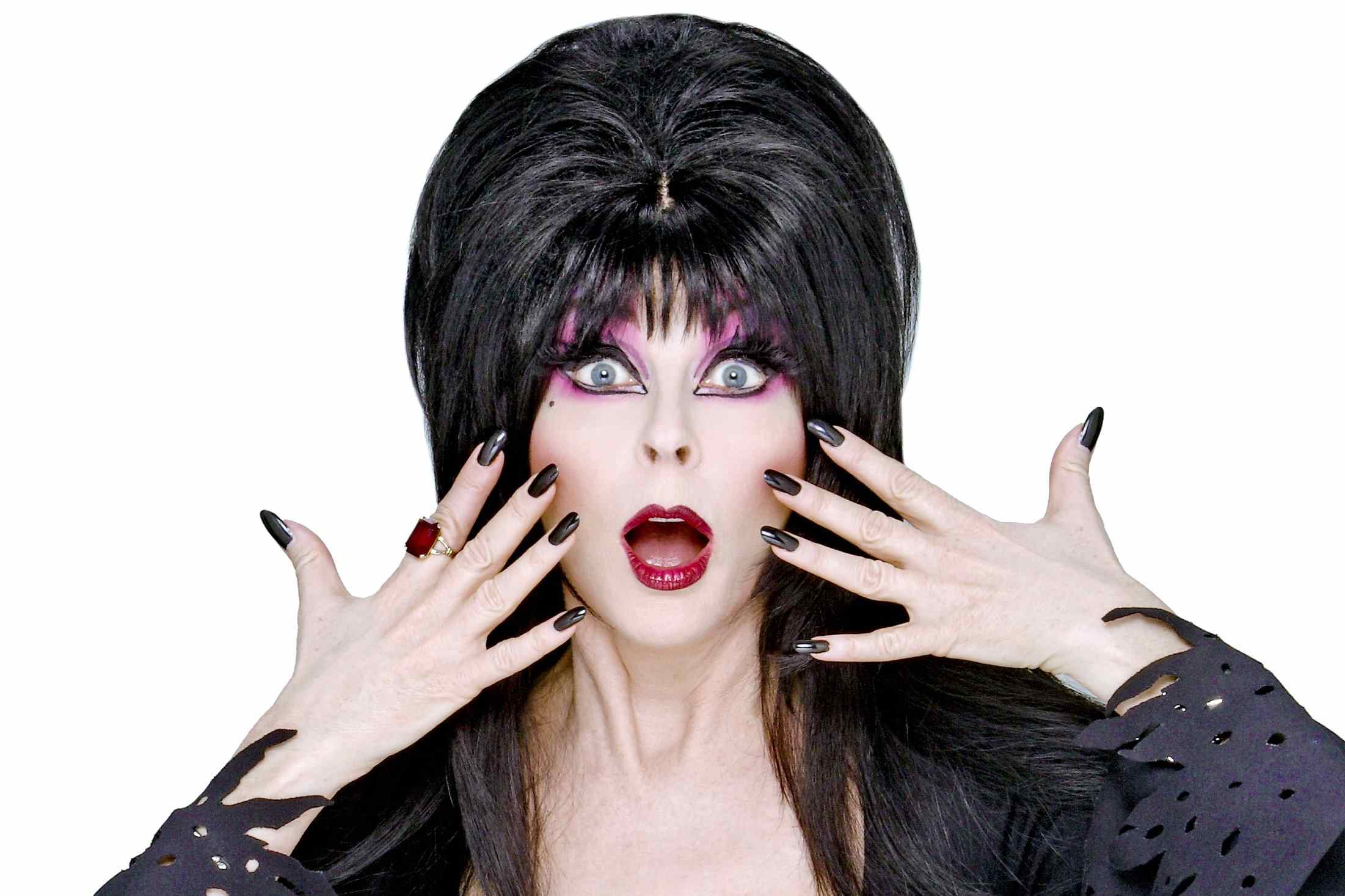 Elvira will appear on the A&E series Epic Ink.